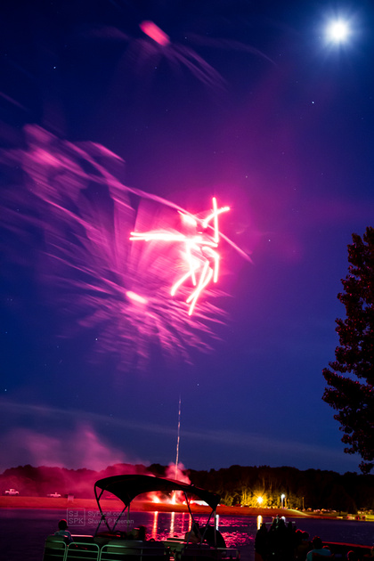 Angel in the Fireworks